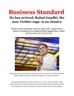 He has arrived: Rahul Gandhi, the new Twitter rage, is on cloud 9