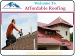 Roofing Services in Rossville, GA
