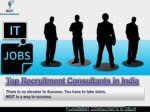 Top Recruitment Consultants in India