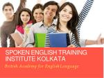 Spoken English Training Institute Hazra Kolkata