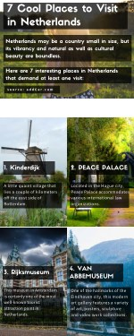 7 Cool Places to Visit in Netherlands - Infographics Read