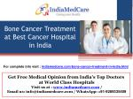 Bone Cancer Treatment in India