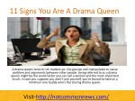 11 Signs You Are A Drama Queen