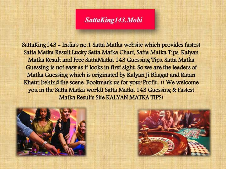 sattaking143 india s no 1 satta matka website n.