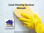 Local Cleaning Services Monash