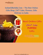 IndianGiftsAdda.Com – The Best Online Gifts Shop | 24*7 Cake, Flowers, Gifts Delivery in India