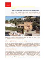 7 Things to Consider While Hiring a Real Estate Agent in Moraira