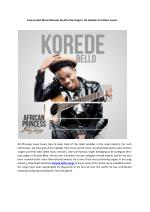 Enjoy Latest Music Releases By Afro-Pop Singers- All Updates For Music Lovers