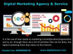 Digital Marketing Agency & Services 2018
