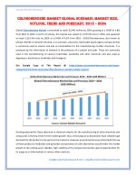 Global Chlorobenzene Market is estimated to reach $2,942 million by 2024