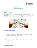 PDF on De Addiction and Psychiatrist Centre in Pune by Dr. Amar Shinde