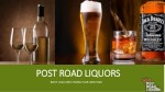 Special Spirits of the Month from Post Road Liquors | Call: (410) 939-0990