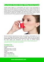 Buy Generic Ventolin Inhaler 100 Mcg Online