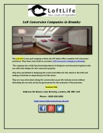Loft Conversion Companies in Bromley