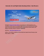 Domestic Air and Flight tickets Booking Online | Sky Planners