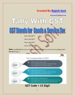 Tally with GST Assignment