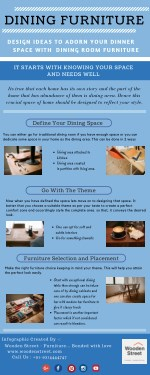 Implement easy steps to design your dining area