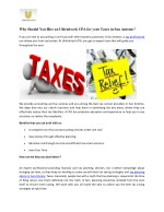 Reason to Hire Professional Tax Services in San Antonio