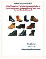 Global Industrial Protective Footwear Market is estimated to reach $6,940 Million by 2024