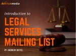 Legal Services Mailing List