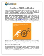 Togaf training and certification