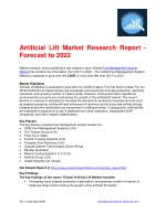 Artificial Lift Market Research Report - Forecast to 2022