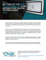 Setting Up the S22 Touch Panel PC for Interactive Digital Totem Kiosks
