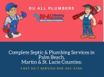 Du-All Plumbers - Complete Septic & Plumbing Services South Florida