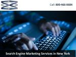 Search Engine Marketing Services in New York