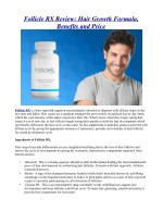Follicle RX Review: Hair Growth Formula, Benefits and Price