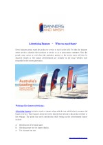 Advertising Banners – Why you need them?