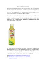 Spoken of aloe vera juice wholesaler