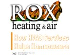How HVAC Services Are Helpful To Homeowners