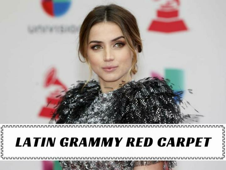 latin grammy red carpet n.