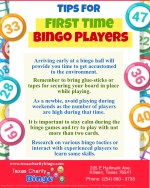 Tips For First Time Bingo Players