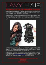 Buy Quality And The Best Human Hair Extensions