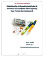 Global Insulin Delivery Devices Market is estimated to reach
