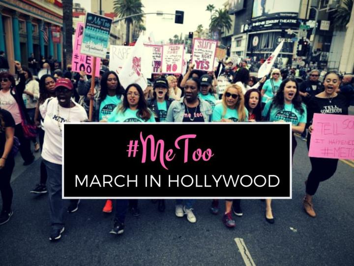 metoo march in hollywood n.