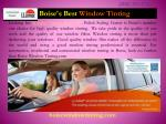 Window Tinting Service in Boise | Boise Window Tinting