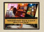 Affordable Wedding DJ Prices in Reno, Nevada