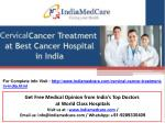 Cervical Cancer Treatment in India