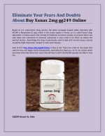 Eliminate Your Fears And Doubts About Buy Xanax 2mg gg249 Online