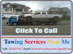 Towing Services in Tacoma Areas