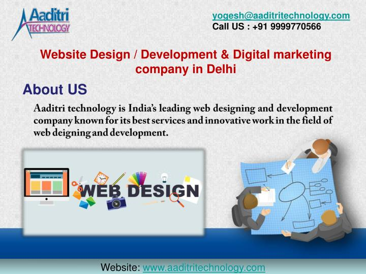 Ppt Best Website Design Development Company In Delhi India Powerpoint Presentation Id 7748853