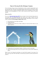 Tips for First Time Home Buyers - Summit Mortgage
