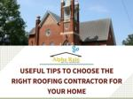 Know How to Choose Right Metal Roofing Contractors?