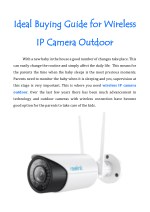 Ideal Buying Guide for Wireless IP Camera Outdoor