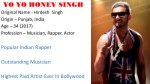 Yo Yo Honey Singh Best Rap Lyrics From Punjabi Songs