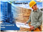 Cement brands in India: Buying Construction Material of all kinds Conveniently