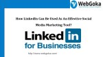 Know The benefits of Using LinkedIn for Social Media Marketing